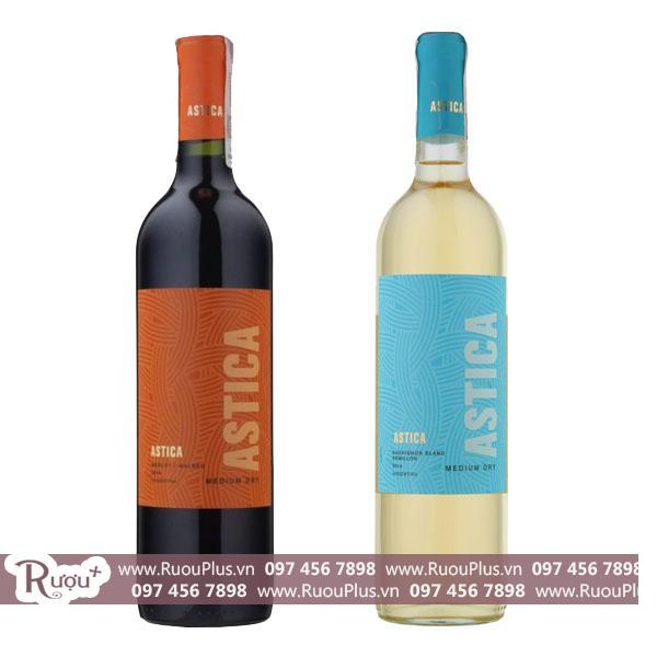 Rượu vang Argentina Trapiche Astica