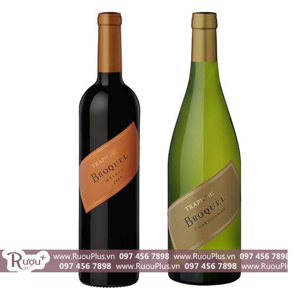 Rượu vang Argentina Trapiche Broquel