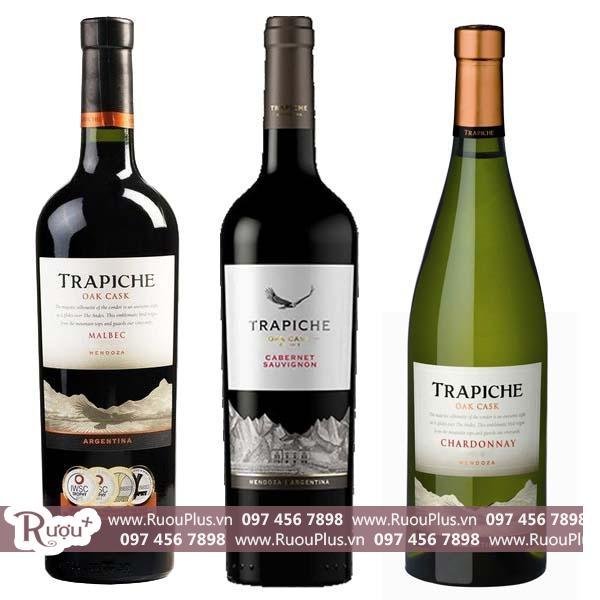 Rượu vang Argentina Trapiche Oak Cask