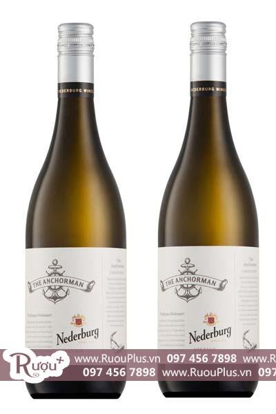 Rượu vang Nam Phi The Anchorman Chenin Blanc