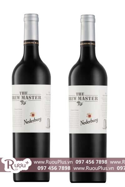 Rượu vang Nam Phi The Brew Master Bordeaux Blend