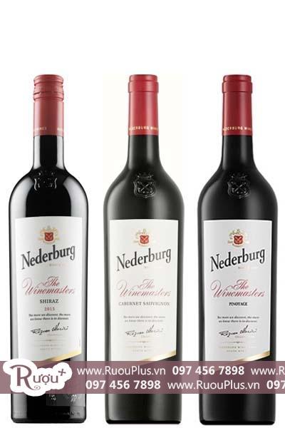 Rượu vang Nam Phi Nederburg Red