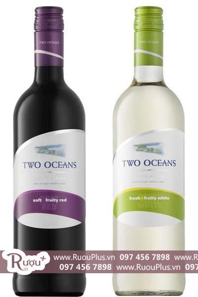 Rượu vang Nam Phi Two Oceans Fruity