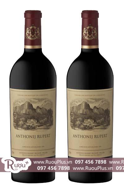 Rượu vang Nam Phi Anthonij Rupert Blend