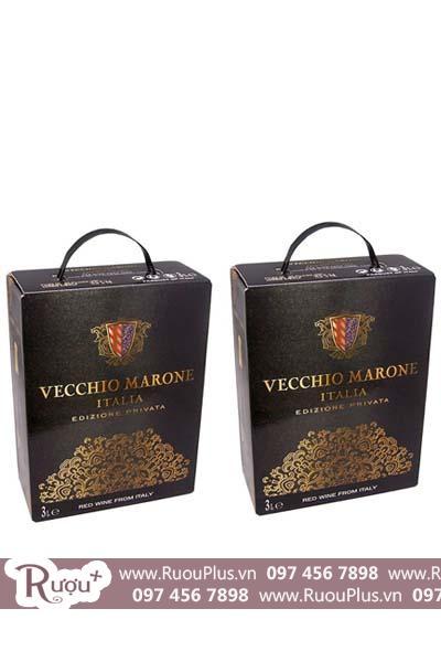 Rượu vang bịch Vecchio Marone