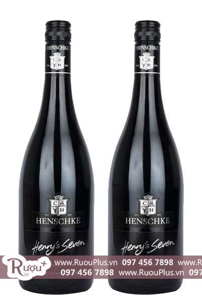 Rượu vang Úc Henschke Henry's Seven