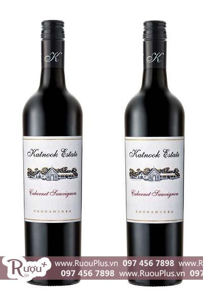 Rượu vang Úc Katnook Estate Cabernet Sauvignon