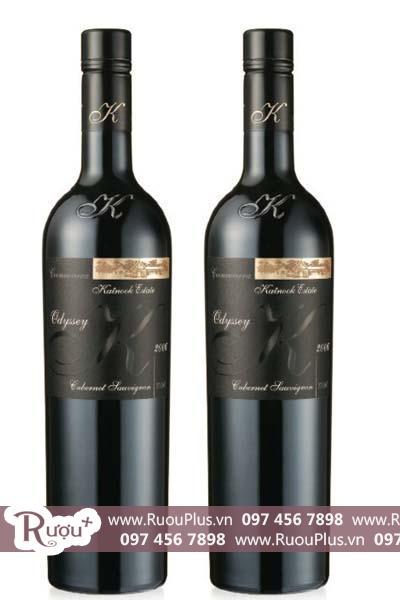 Rượu vang Úc Katnook Estate Odyssey Cabernet Sauvignon
