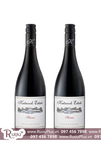 Rượu vang Úc Katnook Estate Shiraz