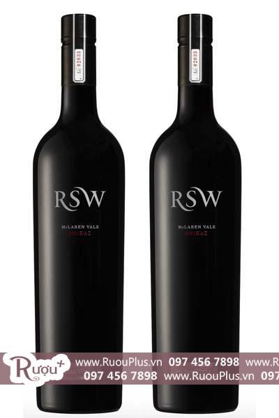 Rượu vang Úc Wirra Wirra RSW Shiraz