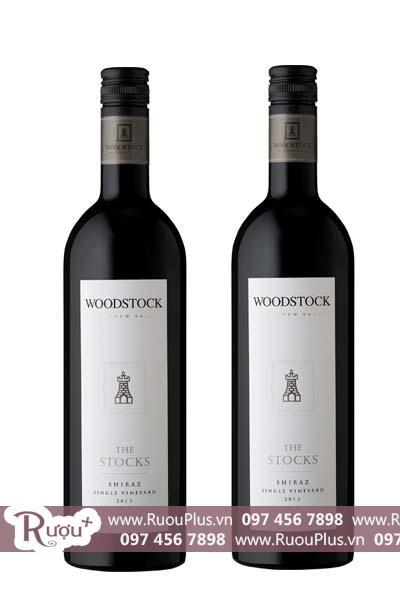 Rượu vang Úc Woodstock The Stocks Shiraz