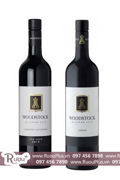 Rượu vang Úc Woodstock