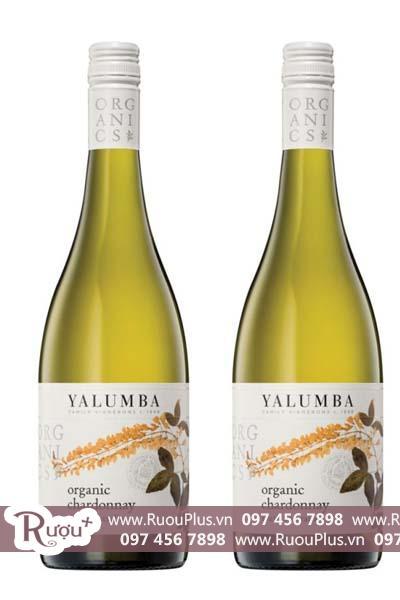 Rượu vang Úc Yalumba Organic Riverland Chardonnay