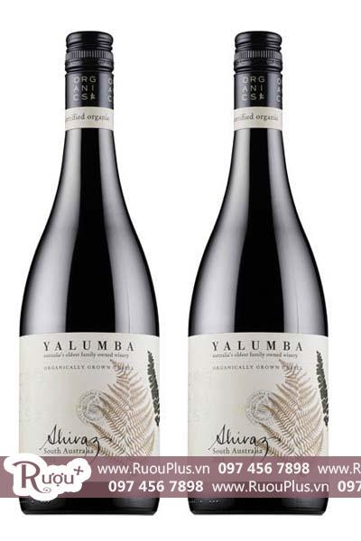 Rượu vang Úc Yalumba Organic Riverland Shiraz