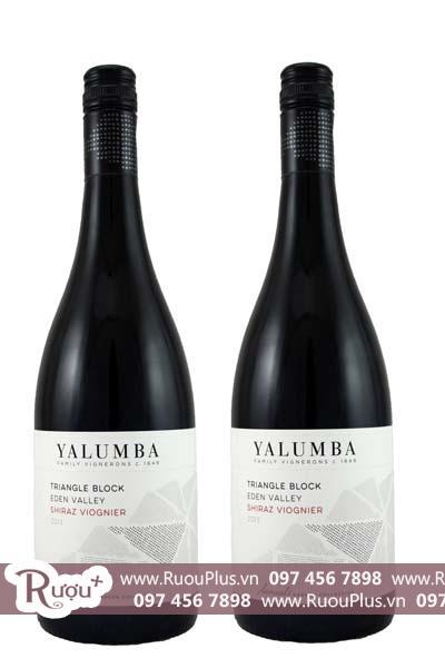 Rượu vang Úc Yalumba Triangle Block Shiraz Viognier