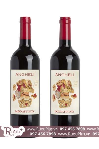 Rượu vang Ý Donnafugata Angheli Sicilia DOC