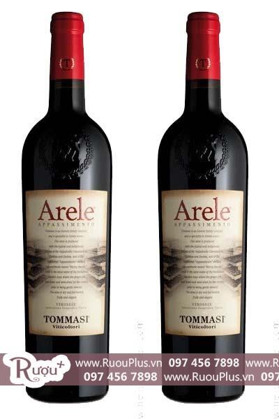 Rượu vang Ý Tommasi Arele Appassimento Delle Venezie IGT