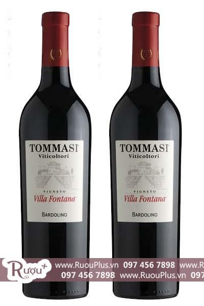 Rượu vang Ý Tommasi Villa Fontana Bardolino DOC