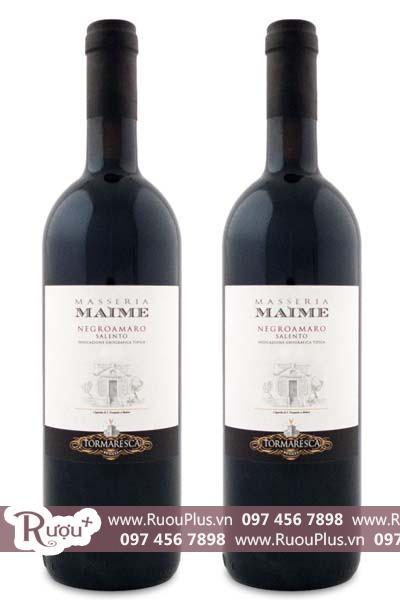Rượu vang Ý Tormaresca Masseria Maine Salento IGT