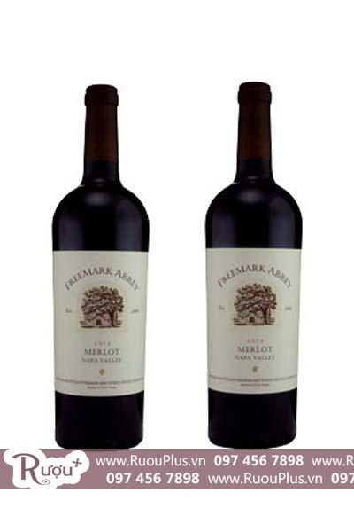 Rượu vang Mỹ Freemark Abbey Merlot
