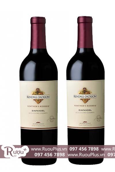 Rượu vang Mỹ Kendall Jackson Vintners Reserve Zinfandel