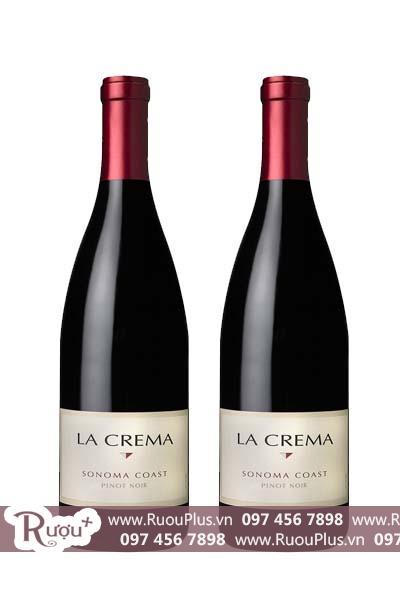 Rượu vang Mỹ La Crema Sonoma Pinot Noir