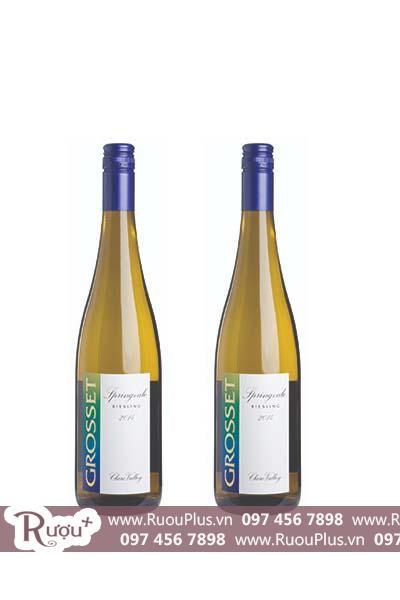 Rượu vang Úc Grosset Springvale Riesling