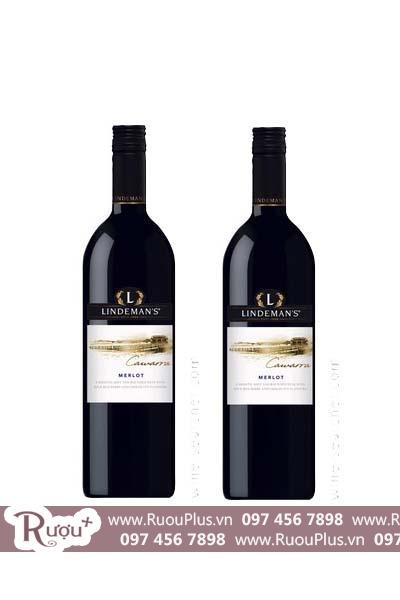 Rượu vang Úc Lindemans Cawarra Merlot