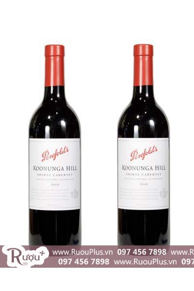 Rượu vang Úc Penfolds Koonunga Hill Shiraz Cabernet Sauvignon