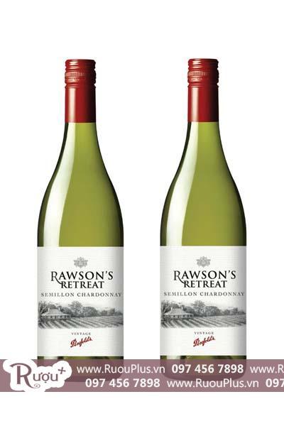 Rượu vang Úc Rawsons Retreat Semillon Chardonnay