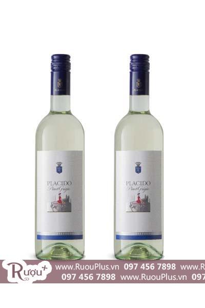Rượu vang Ý Banfi Placido Pinot Grigio