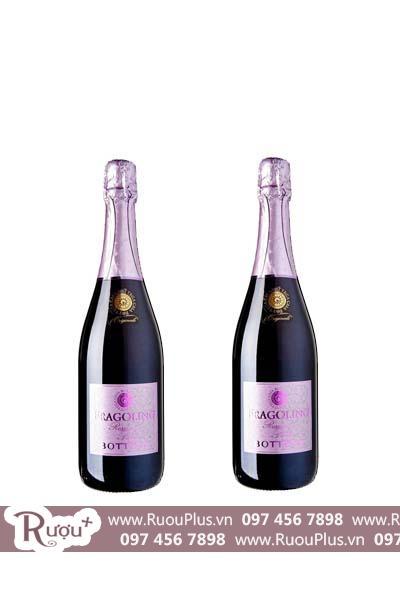 Rượu vang Ý Bottega Fragolino Spumante Rosso