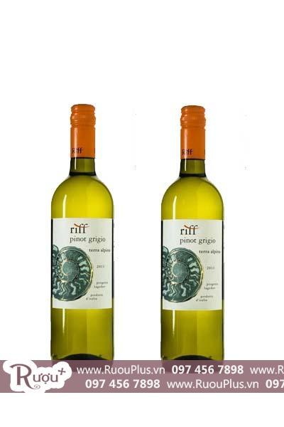 Rượu vang Ý Cantina Riff Pinot Grigio Terra Alpina