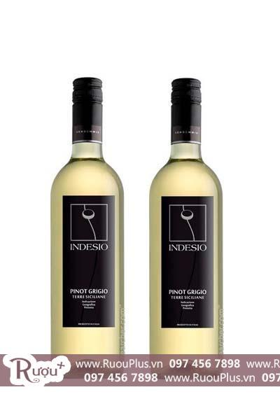 Rượu vang Ý Indesio Pinot Grigio