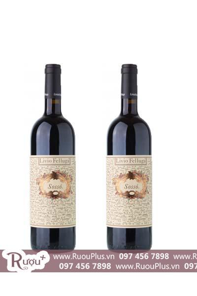 Rượu vang Ý Livio Felluga Sosso Friuli Colli Orientali DOC