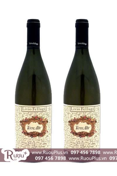 Rượu vang Ý Livio Felluga Terre Alte Rosazzo DOCG