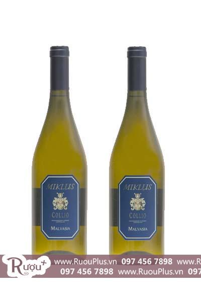 Rượu vang Ý Miklus Malvasia