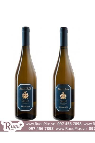 Rượu vang Ý Miklus Sauvignon