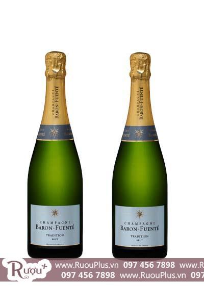 Rượu Sâm panh Champagne Brut Baron Fuente