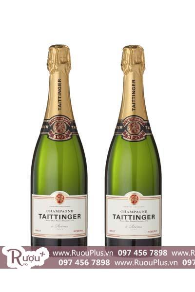 Sâm panh Champagne Taittinger Brut Reserve