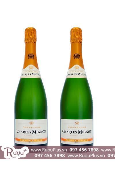 Sâm panh Charles Mignon Brut Premium Reserve