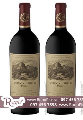 Rượu vang Nam Phi Anthonij Rupert Merlot