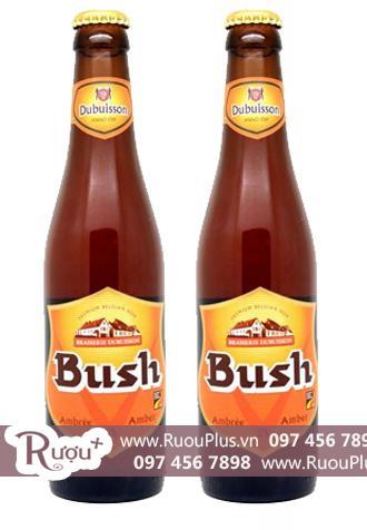 Bia Bush Ambree nhập khẩu giá rẻ