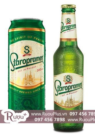Bia chai lon Staropramen nhập khẩu giá rẻ