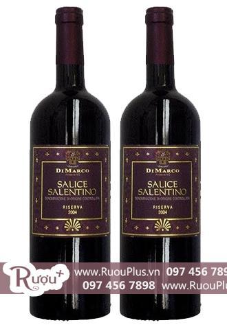 Rượu vang Ý Di Marco Salice Salentino Rosso Riserva