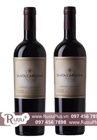 Rượu vang Chile Santa Carolina Reserva De Familia Cabernet Sauvignon