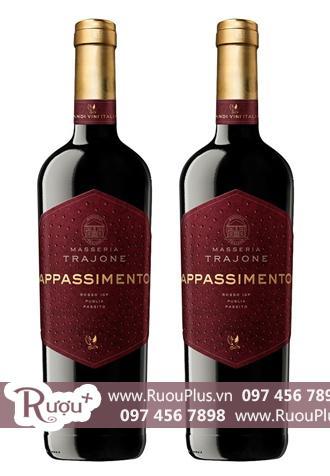 Rượu vang Ý Masseria Trajone Appassimento