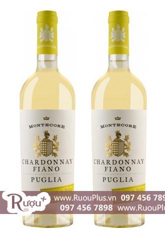 Rượu vang Ý Montecore Chardonnay-Fiano