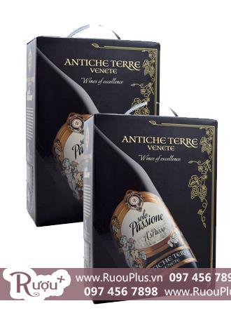 Rượu vang Ý Solo Passione 3L BIB Antiche Terre Venete