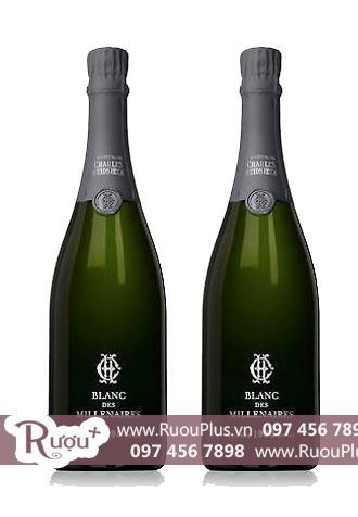 Sâm Banh Pháp Champagne Charles Heidsieck Blanc Des Millenaires